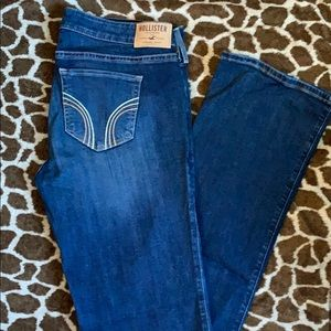 Hollister boot cut jeans size 11r 30/33